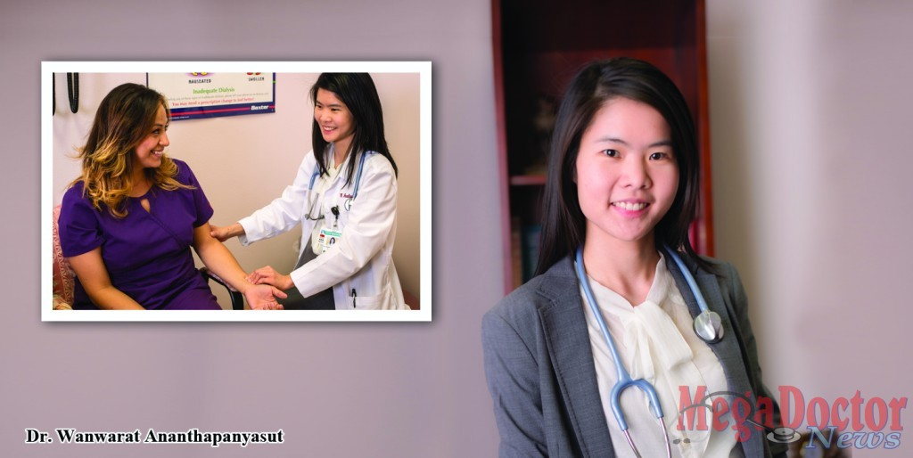 Dr. Wanwarat Ananthapanyasut or better known as Dr. Ana, nephrologist. Photo By: Pollux Castor, Inc.