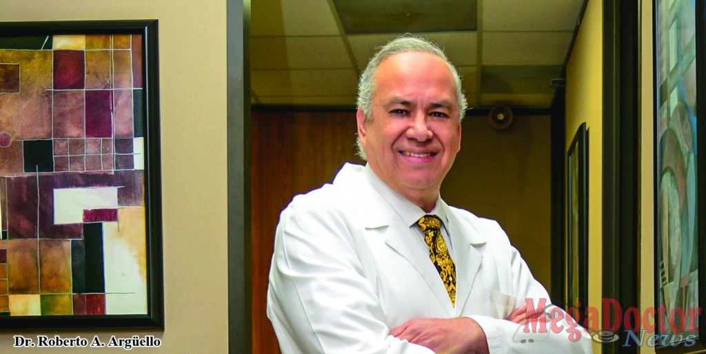 Dr. Roberto A. Argüello is an ophthalmologist who has done cornea transplant for more than three decades successfully. Photo by Roberto Hugo Gonzalez