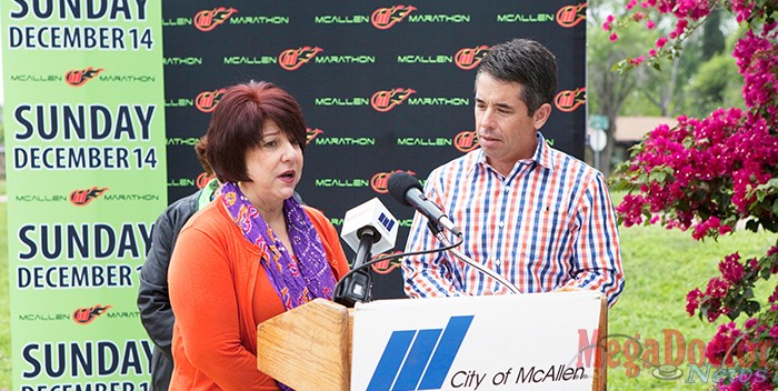 """We got so much positive feedback from our inaugural marathon. The course was great and hopefully we can inspire even more people to join this year,"" Commissioner Veronica Vela Whitacre said. ""We want to grow this event because last year's marathon was so much fun,"" City Commissioner Scott C. Crane said. The McAllen Marathon has been made possible by support from our title sponsor, Texas Gastroenterology Institute (TGI) and with help from the McAllen Boys & Girls Club and organizers of the Tamale Fest."