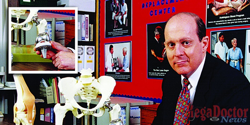 RENOWNED ORTHOPEDIC SURGEON - Dr. Rick Bassett, Orthopedic Surgeon who has now performed more than 10,000 knee replacement surgeries at Valley Baptist Medical Center-Harlingen, developed his own joint replacement prostheses for the knees and hips in the 1990s.