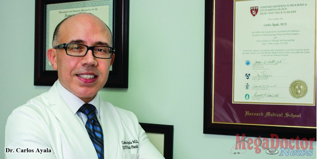 Retired Air Force Lt. Col. Carlos Ayala Sets Up ENT & Facial Plastic Surgery Practice in Edinburg, Texas
