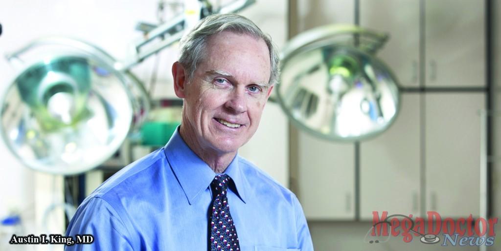 Austin I. King, MD named Texas Medical Association president