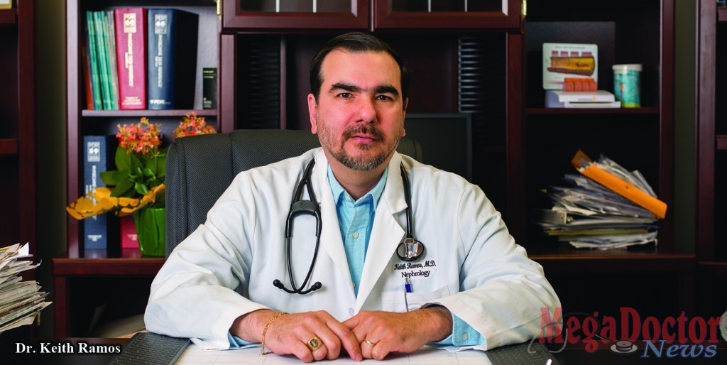 Dr. Keith A. Ramos, a Nephrologist, who runs three offices in the Rio Grande Valley under the name Kidney Doctors of South Texas, P.A.