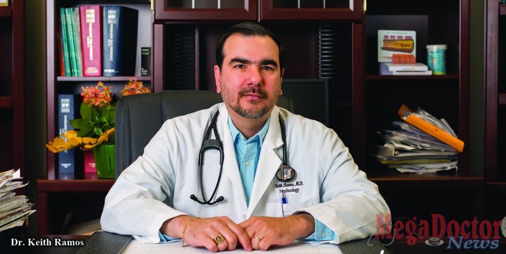 Dr  Keith Ramos Kidney, Specialist Says Kidney Disease Is
