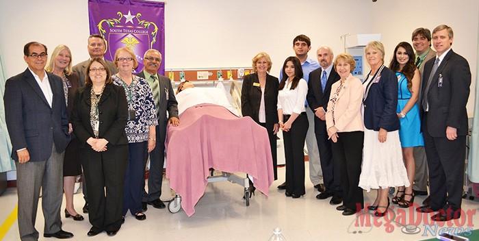 UTRGV president visits STC's Nursing & Allied Health Campus