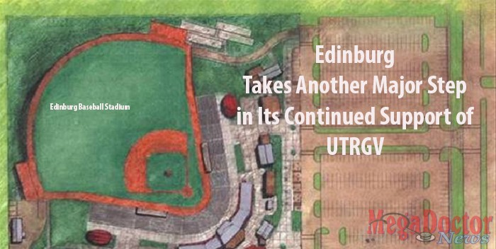 """Mayor Richard H. Garcia says the intent of the donation is to further the mission and interests of UTPA and UTRGV.  """"This donation will be re-paid tenfold with the growth and jobs that this new university and medical school will bring to our community."""""""