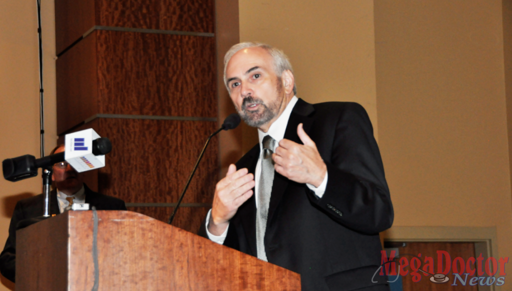 Dr. Guy Bailey's plan is for the first medical class graduating from UTRGV medical school to be debt free.