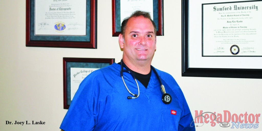 Chiropractor Dr. Joey L. Laske provides Valuable  Healthcare Services to South Padre Island