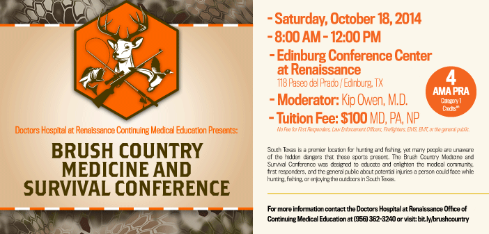 Brush Country Medicine and Survival Conference