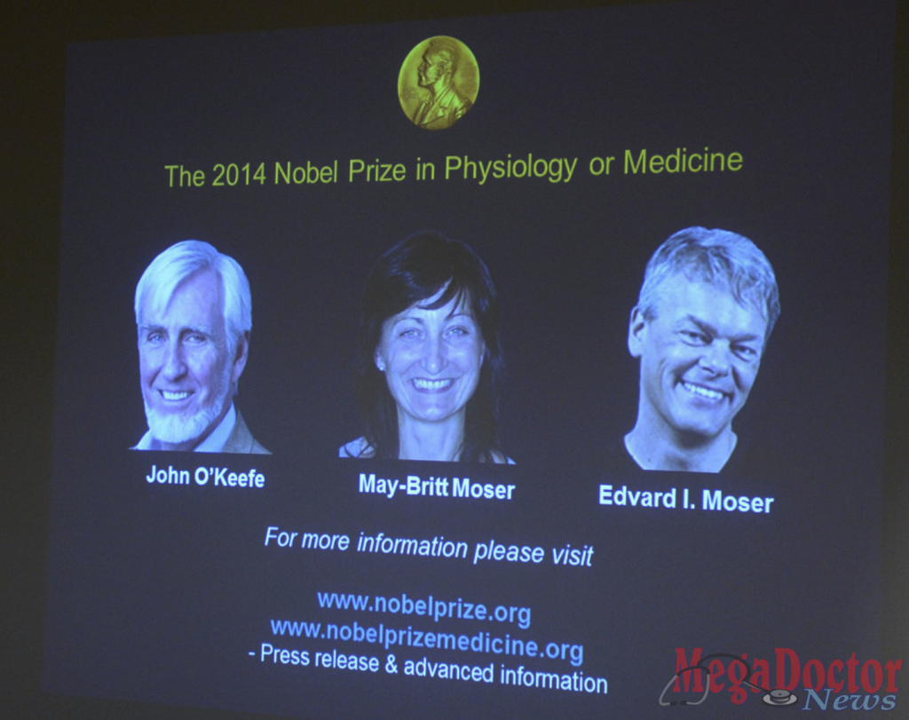The 2014 Nobel Prize in Physiology or Medicine