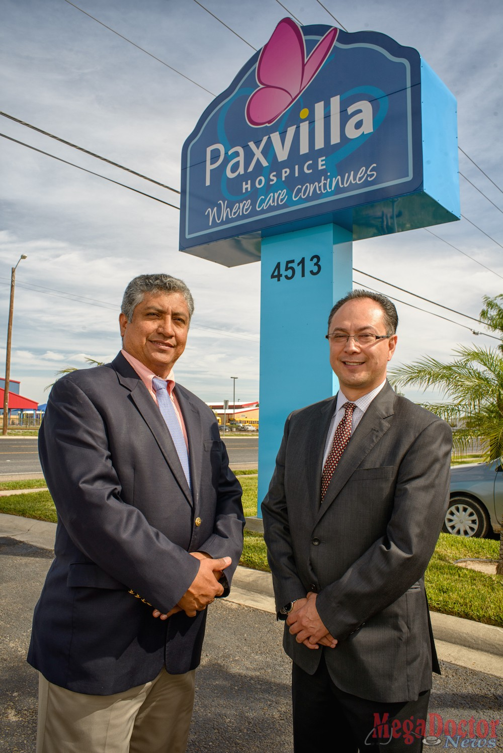 Counselors for Pax Villa Hospice L-R: Lauro Roman and Sergio Hernandez