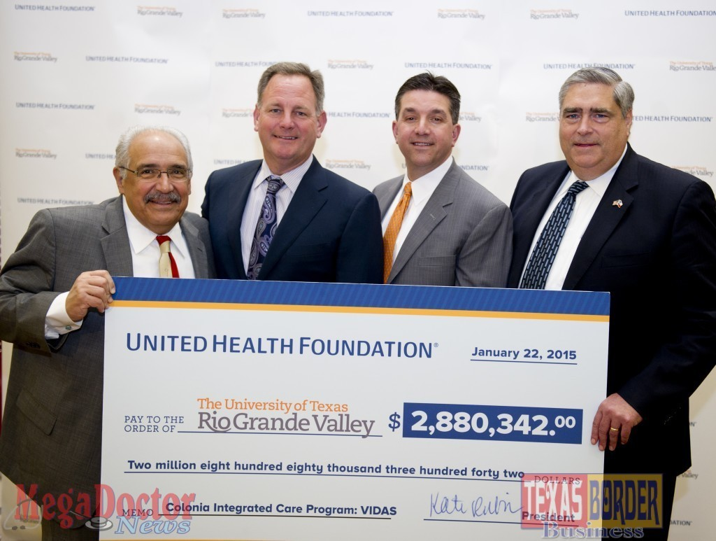 UTRGV-United-Health-Grant-Check