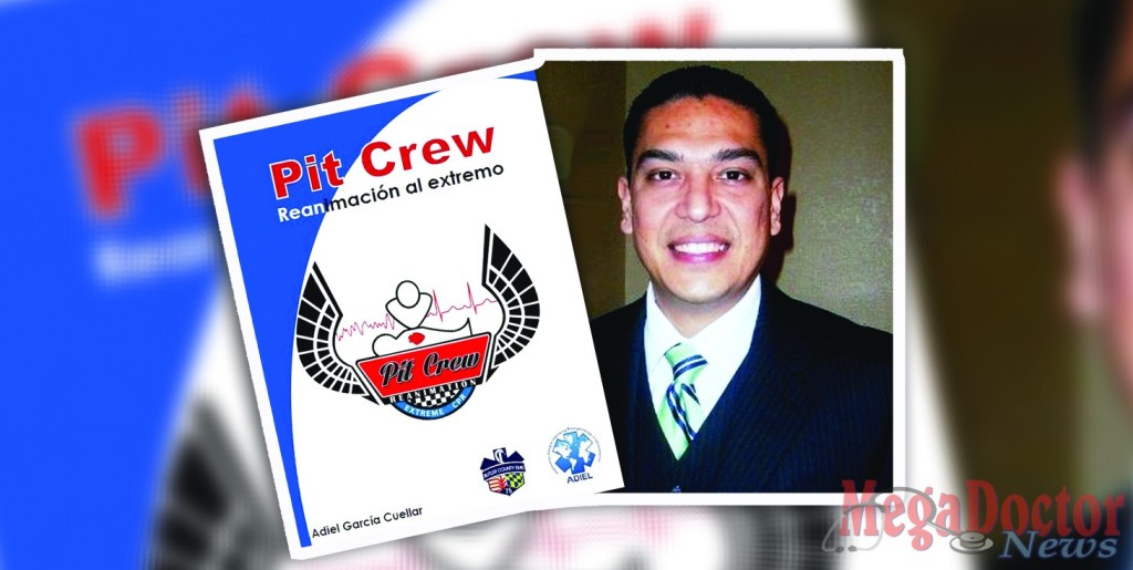 "Adiel Garcia, M.Ed, a health science technology instructor at South Texas Academy for Medical Professions (Medical Academy) in San Benito, wrote a book on a new method of resuscitation, which has demonstrated a higher rate of effectiveness than that of traditional CPR. The ""Pit Crew Reanimation"" application is a design that transfers the same team approach found in an actual motor sports pit crew to CPR in an effort to save the life of a patient."
