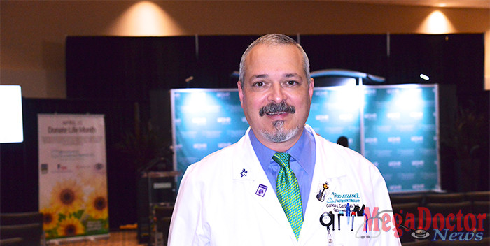 Dr. Carlos Cardenas, Gastroenterologist named Texas Medical Association President-elect. Photo by Roberto Hugo Gonzalez