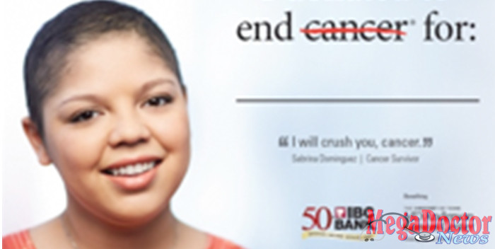 """""""You can't, for one second, let cancer win,"""" Sabrina said"""