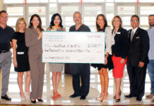 Thank you to DHR for becoming sponsors of Whataburger presents Empty Bowls 2017!  Pictured:  Dr. Jim Garza, M.D.; Jacqueline Flores, EB Committee; Gabriela Nunnery, EB Committee Co-Chair; Michelle Zamora, FBRGV Board President and EB Committee Chair; Dr. Carlos J. Cardenas, DHR CAO/Chairman of the Board; Susan Turley, DHR President; Yolanda Gonzalez, FBRGV Treasurer; Mario Lizcano, DHR Administrator for Corporate Affairs; and Philip Farias, FBRGV Mgr. of Corporate Engagement & Events. For more information, contact Philip Farias, Mgr. of Corporate Engagement & Special Events, by calling (956) 904-4513 or mailto:pfarias@foodbankrgv.com