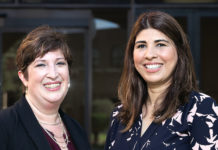 Dr. Laura Seligman (at left), UTRGV associate professor of Psychological Science, and Dr. Liza Talavera-Garza, Psychological Science lecturer, are working on a study aimed at developing treatments that alleviate dental anxiety in children, making it possible for children and adolescents to get regular dental care and feel comfortable when visiting the dentist. Seligman and her research team were awarded a grant for $217,950 from the U.S. Department of Health and Human Services National Institute of Dental and Craniofacial Research to address the issue. (UTRGV Photo by Paul Chouy)