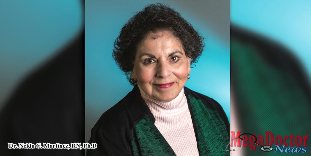 UTRGV nursing professor Dr. Nelda C. Martinez, RN, Ph.D., has been named a Fellow of the American Academy of Nursing. (UTRGV Photo by David Pike)
