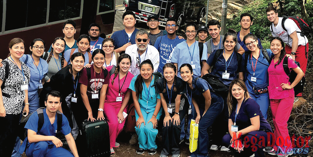 UTRGV biomedical sciences students provided healthcare this summer for patients in rural Nicaragua. A group of 25 students and two faculty members with the UTRGV chapter of Medical Brigades – a student-led organization that focuses on providing medical attention to underserved areas both domestic and overseas – provided consultations, medications, dental work, lab work and preventive educational presentations to more than 800 people in three rural communities in Nicaragua: Susuli Central, El Zapote and El Hatillo. (Courtesy Photos)