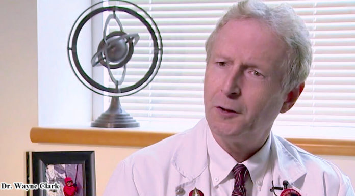 Wayne Clark, M.D., a professor of neurology in the OHSU School of Medicine and director of the OHSU Stroke Program.
