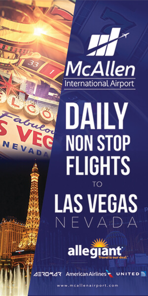 McAllen International Airport - Daily Non Stop Flights to Las Vegas