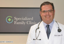 Eduardo Candanosa, M.D. is Board Certified in Family Medicine. His practice, Specialized Family Clinic TM is located at 801 E. Nolana Ave, Suite 3 in McAllen, Texas. He was selected as the Mega Doctor for this issue for his genuine desire to motivate his patients in the Valley to make better choices.
