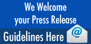 We Welcome your Press Release