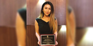 Rigel Piñón of Mission, a UTRGV graduate student in the Master of Science in Clinical Rehabilitation Counseling program, has been named the 2018 National Council on Rehabilitation Education Graduate Student of the Year, the 2018 American Rehabilitation Counseling Association Graduate Student of the Year, and the International Association of Rehabilitation Professionals Graduate Paper of the Year for 2017-2018. She was nominated for all three awards by Dr. Irmo Marini, a UTRGV School of Rehabilitation Services and Counseling professor who has been Piñón's mentor since 2016. (Courtesy Photo)