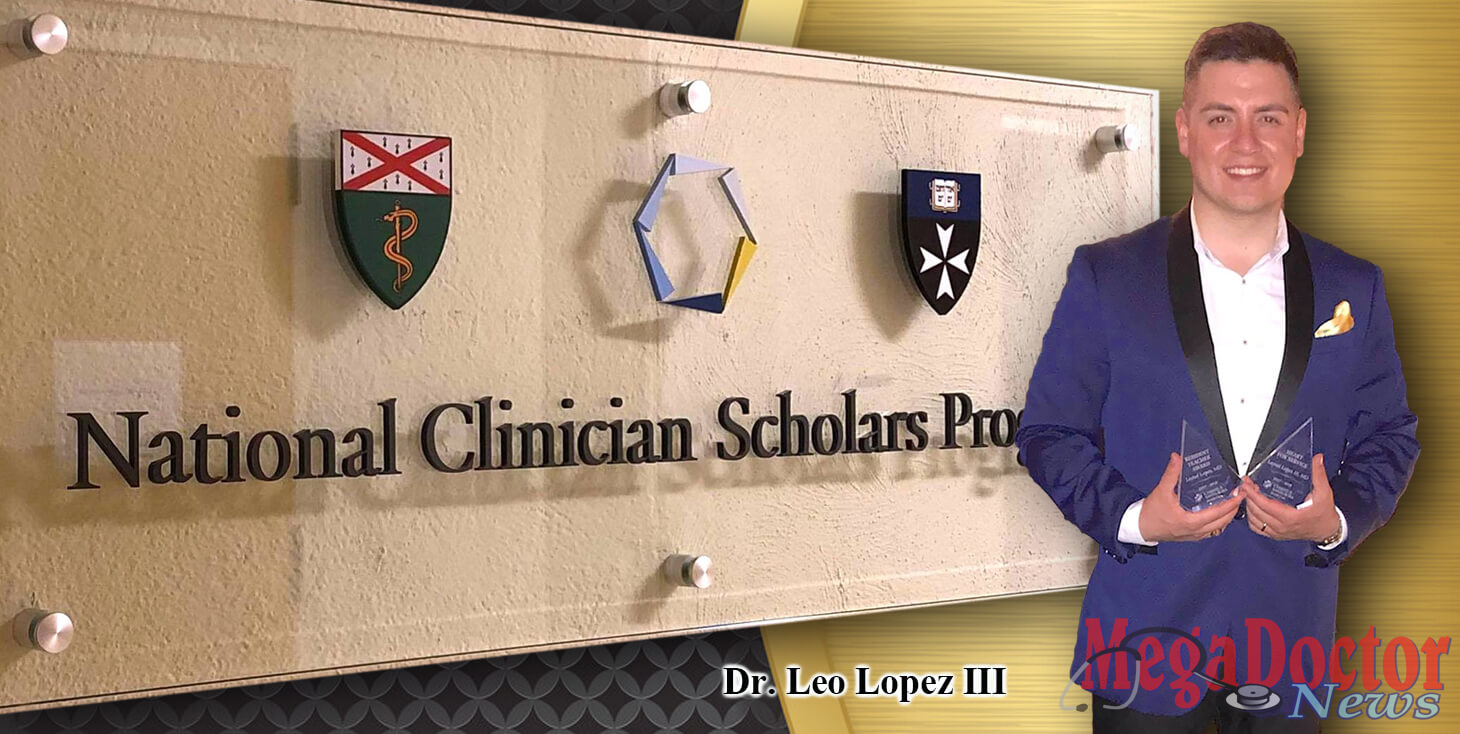Dr. Leo Lopez, III representing the medical profession and the Valley in the highest possible way.