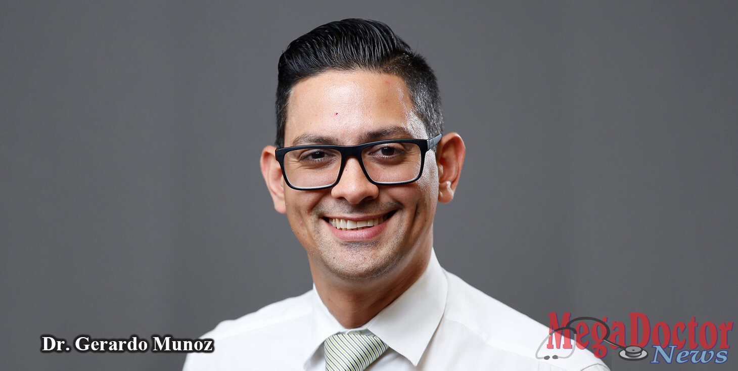 "Dr. Gerardo Munoz Monaco, Family Medicine Physician, will update the community on preventing obesity during a free ""Doc Talk"" which will be held on Thursday, September 6, at 6 p.m. in Mercedes at the Knapp / UTRGV Family Health Center, located off Expressway 83 at the N. Mile 2 West Rd. exit (across from Med High)."
