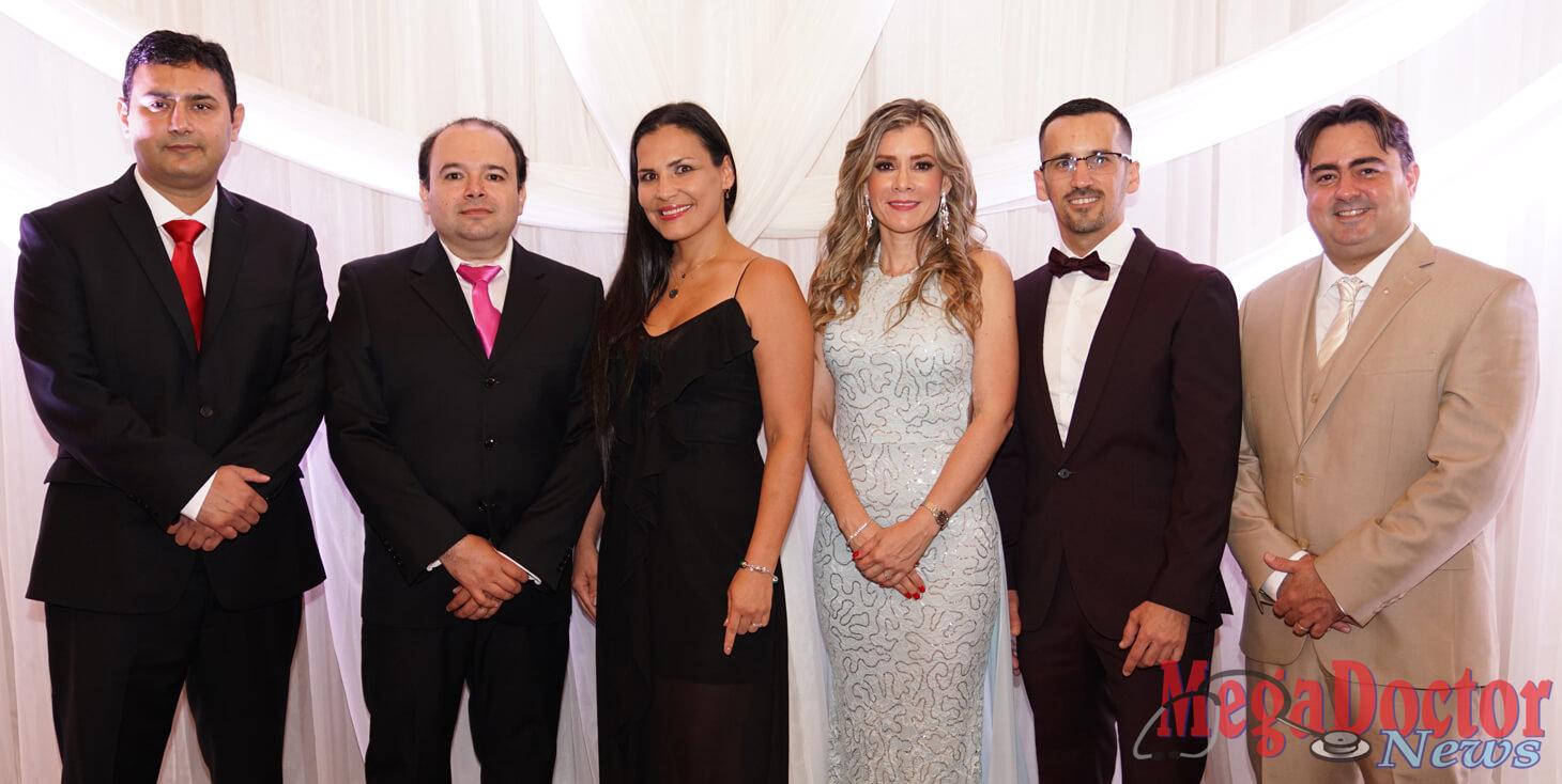 L-R: Dr. Zeeshan Afzal, Dr. Baldemar Gonzalez, Dr. Claudia Akcoban, Dr. Ivonne Lopez, Dr. Aryham Rivas, Dr. Angel Lamas
