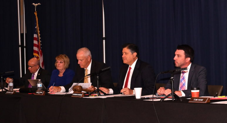 The Health and Human Services Commission's (HHSC) met at the Edinburg Conference Center at Renaissance and received public testimony that will help review the history and future roll-out of Medicaid Managed Care in Texas. Photo by Roberto Hugo Gonzalez