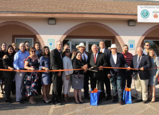 The University of Texas Rio Grande Valley School of Medicine celebrated the grand opening of its Area Health Education Centers (AHEC) on Thursday, Sept. 20, in the La Victoria community in Starr County. The UTRGV School of Medicine received a five-year, $3.75 million grant from the U.S. Department of Health and Human Services' Health Resources and Services Administration to develop the three AHECs, which will offer free healthcare to residents and educational opportunities for students enrolled in UTRGV's health professions programs. Two more AHECs are scheduled to open—one in Hidalgo County and one in Cameron County. (Courtesy Photo)