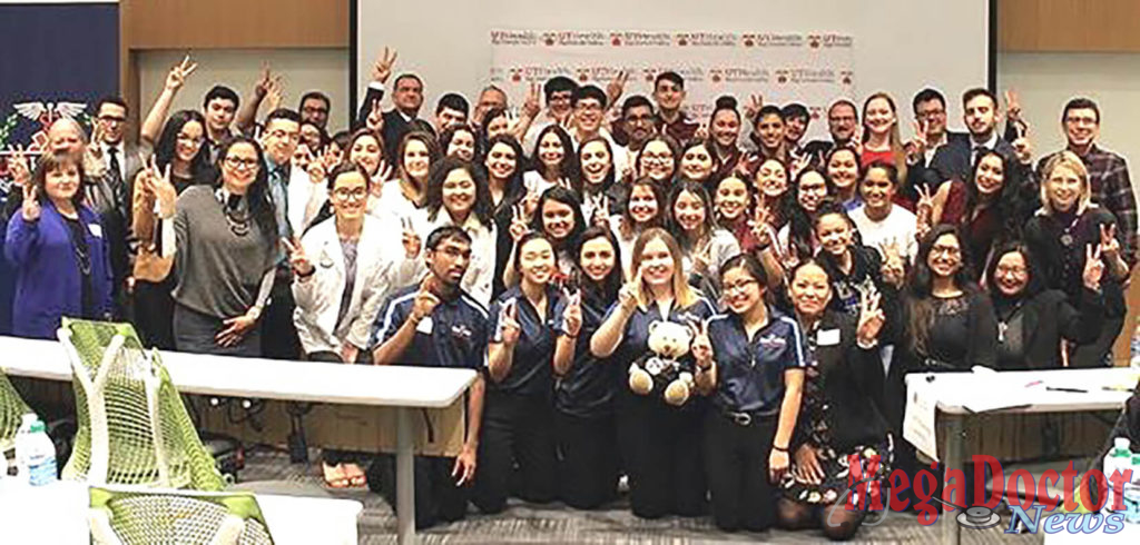 UT Health RGV School of Medicine hosted its first Education Collaboration for Aspiring Health Professionals competition Saturday, Feb. 9, at the Medical Education Building on the UTRGV Edinburg Campus. Eight teams of five students each were tasked with developing creative solutions to address healthcare challenges in rural communities.
