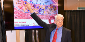 Dr. Esselstyn telling his plan to fight heart disease.