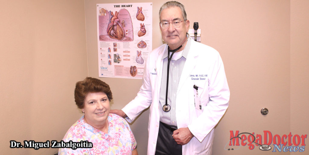 Dr. Miguel Zabalgoitia, Cardiologist, is a specialist who treats patients with heart-related conditions at the South Heart Clinic in Weslaco. Dr. Zabalgoitia was recently re-certified in echocardiography by the National Board of Echocardiography.