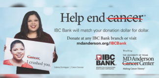 IBC Bank Launches Campaign to End Cancer