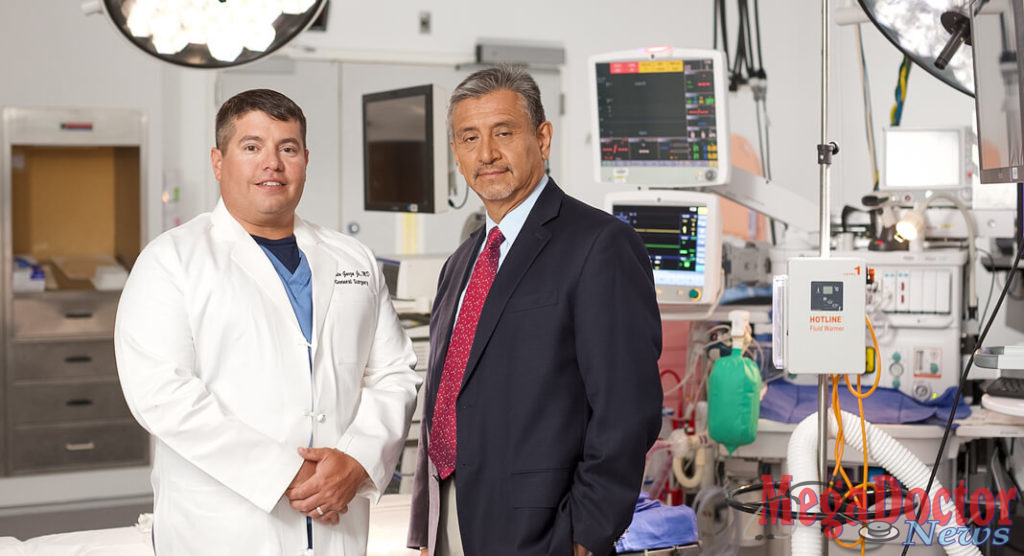 L-R: Bariatric surgeons: Dr. Ernesto Garza and Dr. Luis Reyes, the only bariatric surgeons in the Rio Grande Valley to offer every FDA-approved surgical and nonsurgical weight loss procedure to patients through a collaboration between South Texas Health System Heart and Valley Care Clinics Weight Loss Surgery Center.