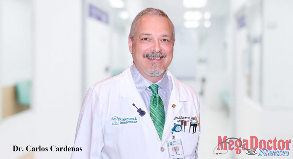 Dr. Carlos J. Cardenas, Chairman of the Board at DHR Health, was honored with the Ashbel Smith Distinguished Alumnus Award from the University of Texas Medical Branch at Galveston.