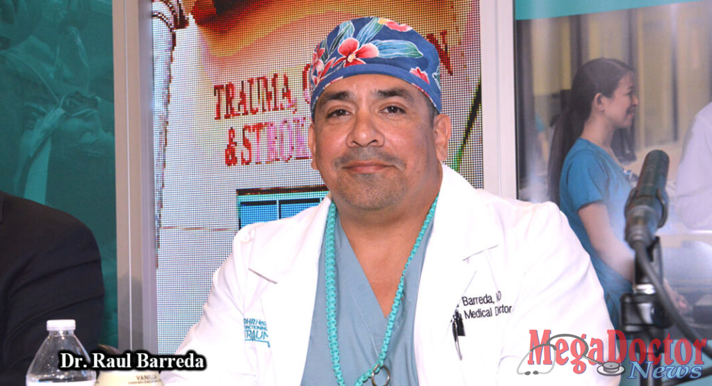 Dr. Raul Barreda, a general surgery specialist, is the Trauma Medical Director at DHR Health. Photo by Roberto Hugo Gonzalez