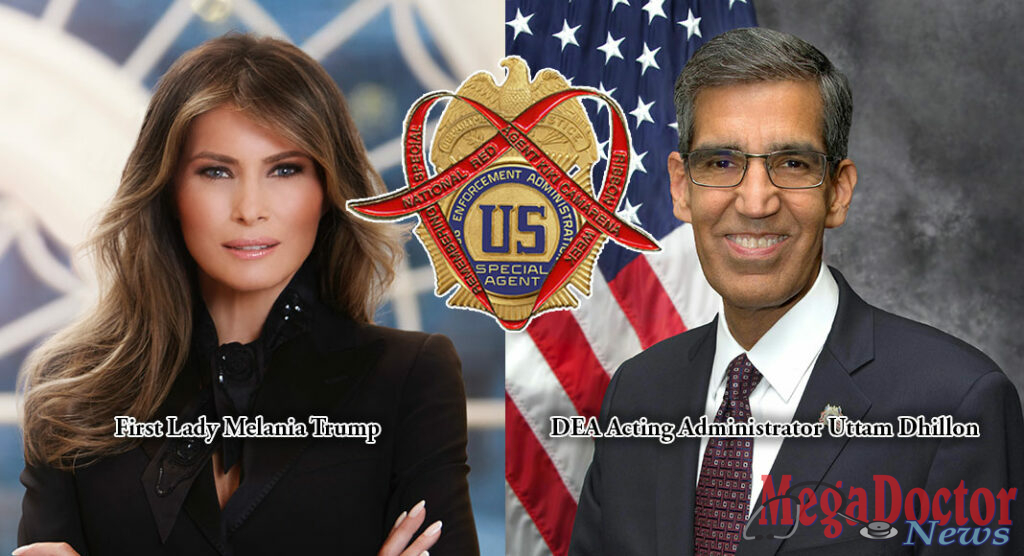 First Lady Melania Trump And DEA To Kick Off 31st Red Ribbon Campaign With Annual Rally