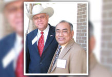 From L-R: Mercurio Martinez Jr., AHEC Board Chair and Blas Castaneda.