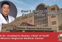 Dr. Humberto Nunez Coronavirus Webinar