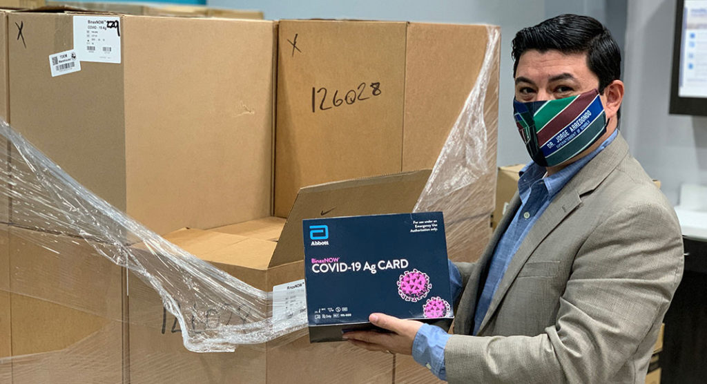 PSJA ISD receives 11,000 kits for rapid COVID-19 testing
