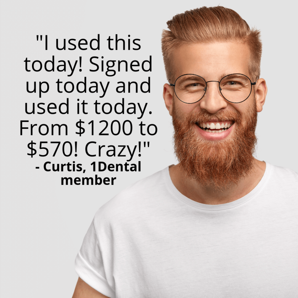 Join and start saving today at: 1Dental is a smarter, simpler way to save on dental care. No limits, no waiting periods, no red tape.